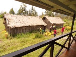 New classrooms built by Vision for Homes PNG to replace small bush classrooms
