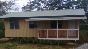 Teacher's house located at Tinsley Primary School, Mul Baiyer District, Western Highlands Province.